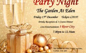 Christmas Party Night Carlisle