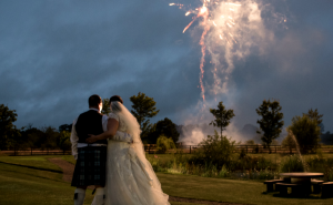 Fireworks - Garden at Eden - Wedding venue in Carlisle